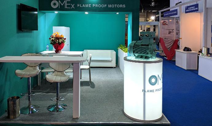 Exposition mondiale sur le pétrole et le gaz de Mumbai 2020 : Ome Motors présent à la foire en Inde